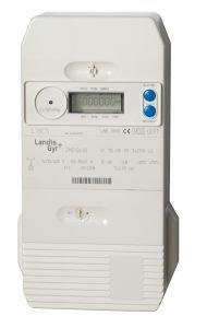 A. Landis & Gyr-Zähler ELECTRIQUE triphasé autorisierten EDF, Heizung, 60A/40kWh Multi Tarife -