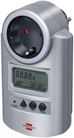 Brennenstuhl Energiemessgerät Primera-Line PM 231 E silber, 1506600 -
