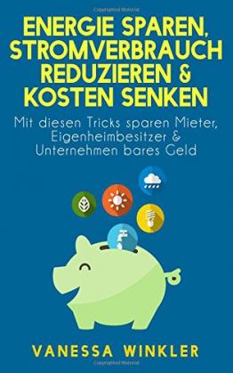 Energie sparen, Stromverbrauch reduzieren & Kosten senken - Mit diesen Tricks sparen Mieter, Eigenheimbesitzer & Unternehmen bares Geld (Ratgebr) -