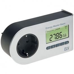 Energy Master Basic-2 Energie Messer Strommesser Strom Verbrauchsmessung ab 0,1 W Energiekosten Messgerät -