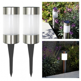 Frostfire Small Solar Post Lights -