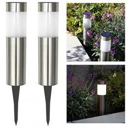 Frostfire Solar Post Lights -