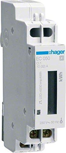 Hager EC050 Energiezähler 1-phasig 32A 1M -