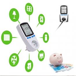Tevigo Energiekosten-Messgerät Premium, Stromtarif frei einstellbar, Stromverbrauch -